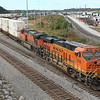 264-04 [G95-06 Crew; Intermodal; Memphis, TN/BNSF-Atlanta, GA]<br /> <br /> BNSF 7939 (ES44C4)<br /> BNSF 7692 (ES44DC, H2)<br /> <br /> Switching domestic doublestacks at Whitaker Yard to Runaround at NS England,<br /> Whitaker Yard, Austell, GA. Run into Wes Hendrix later at Austell, who tells<br /> me Patrick Kolwyk is conductor on G95 and has been on duty since 10:00, re-<br /> crewing 264 and only making their Austell setout due to congestion and MOW.<br /> They end up picking up intermodal and doing regular G95's work using 264's<br /> power.