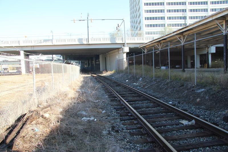 """NS """"abandoned"""" wye at Spring Atlanta, GA"""
