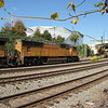 NS 231-06 Garden City, GA-Austell, GA intermodal <br /> UP 4356 <br /> UP 7520 <br /> at NS Circle, Atlanta, GA