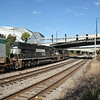 NS 282-06 Jacksonville-Chicago<br /> NS7599<br /> NS2513<br /> intermodal<br /> NS Circle Atlanta, GA