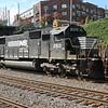 NS 282-06 Jacksonville-Chicago<br /> NS7599<br /> NS2513<br /> intermodal<br /> NS Circle Atlanta, GA