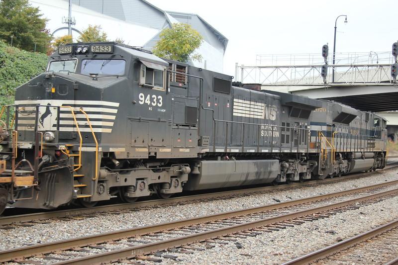 NS 231-07 Garden City, GA - Austell, GA intermodal<br /> NS 1070 Wabash Heritage<br /> NS 9433<br /> NS Circle Atlanta, GA