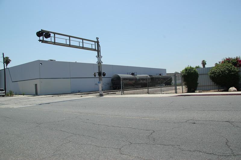 BNSF side of Commerce, Premier Food & Oils Corvette St and Saybrook.