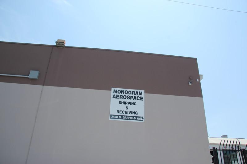 Monogram Aerospace on Canning