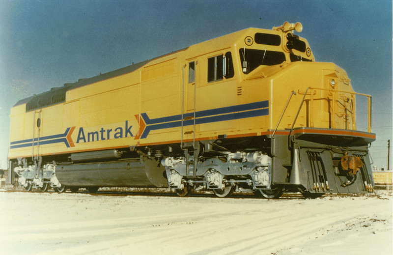 1970's EMD SDP40F mock-up.