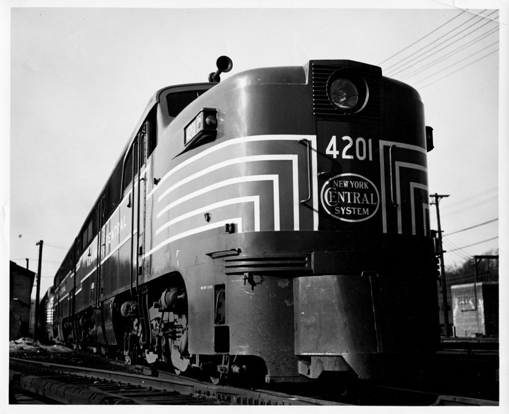 1950's New York Central PA1.