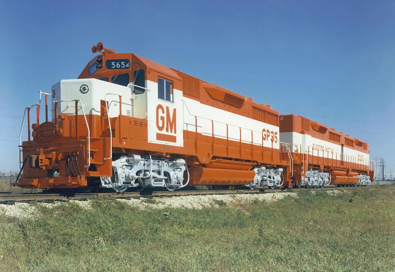 1963 EMD GP-35, DD35B.