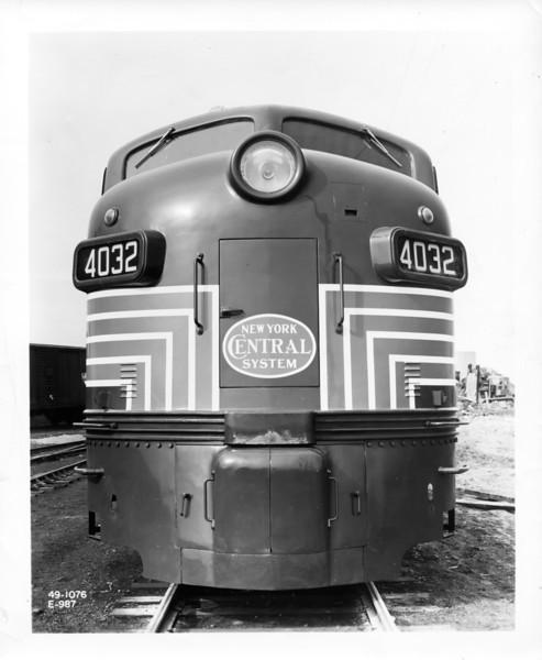 1949 EMD E-7.