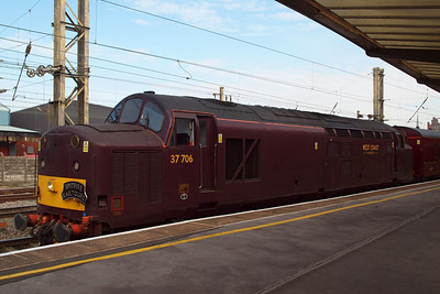 37706 at Preston, working the positioning tour as far as Crewe.