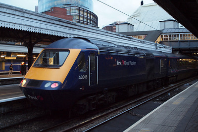 43015 at London Paddington.