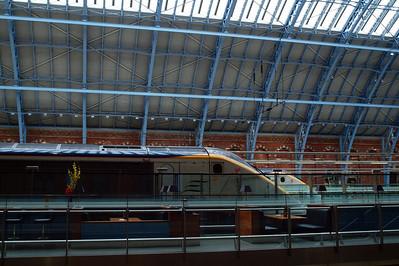Eurostars at St Pancras.