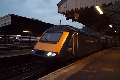 43012 at London Paddington.