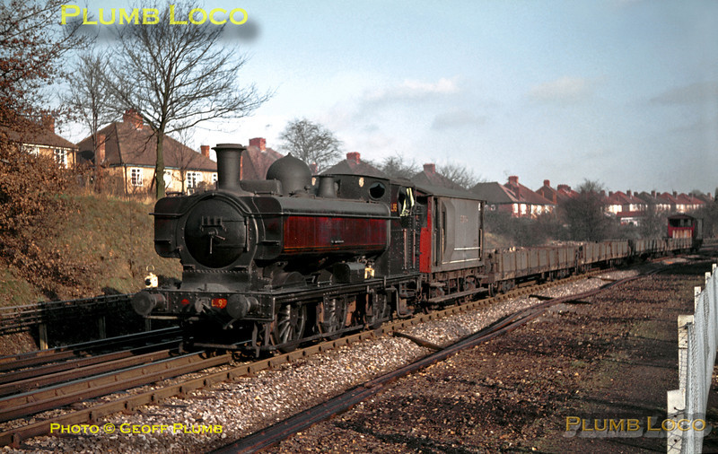 LT 0-6-0PT No. L95, Croxley, January 1969