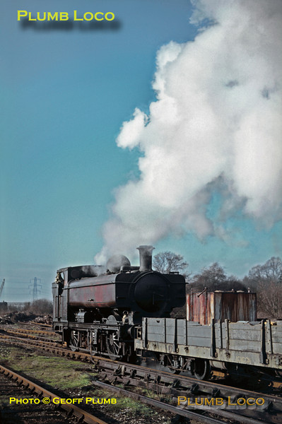LT 0-6-0PT No. L95, Croxley Tip, January 1969