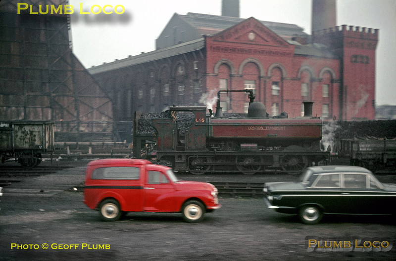 LT 0-6-0PT No. L95, Neasden, 10th February 1967