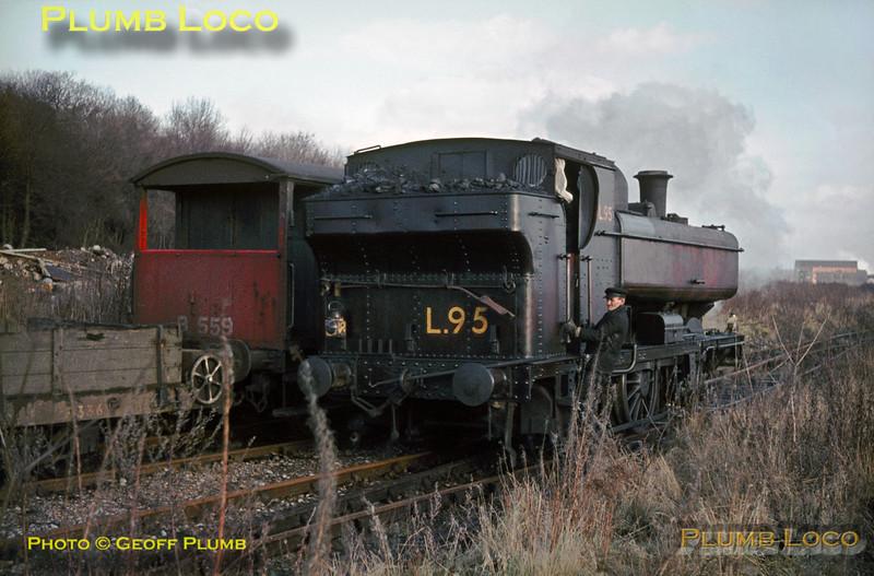 LT 0-6-0PT No. L95, Croxley Tip, January 1969