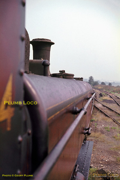View from footplate of L94, Croxley Tip, May 1968