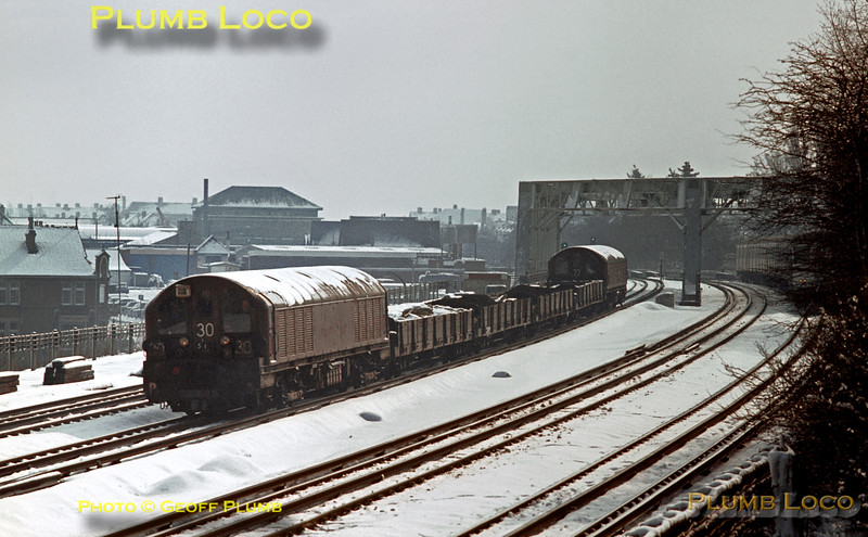 LT Battery Locos, Northwood, March 1970