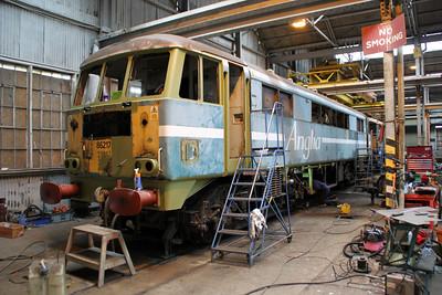 86217 formerley 'Comet' awaiting its Europhoenix Livery  05/05/12.