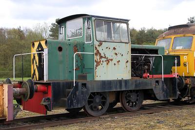 Hunslett Engine Co 0-4-0DH No5/7161  05/05/12.