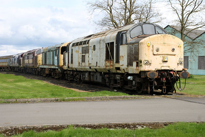 37696 heads the line of stored Loco's  05/05/12.