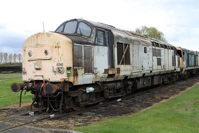 Transrail Liveried 37696  05/05/12.