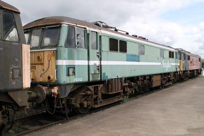 Anglia Liveried 86242  05/05/12.