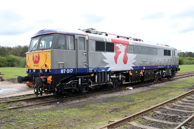 Europhoenix Liveried 87017 'Iron Duke' 05/05/12.