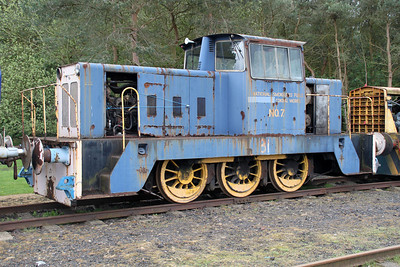 Hunslett Engine Co 0-6-0DH No7/6973  05/05/12.