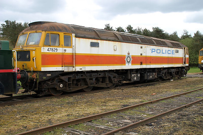 47829 in its 'Police' Livery  05/05/12.