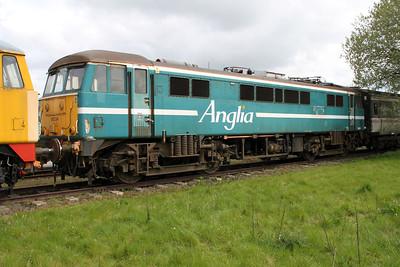 Anglia Liveried 86234  05/05/12.