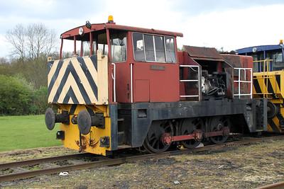 Hunslett Engine Co 0-6-0DH 7003 'Rachael'   05/05/12.