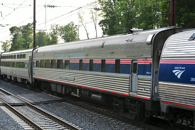 Originally built for the CB&Q in 1952, Amtrak 8502 still provides tasty meals to travelers up and down the East Coast.
