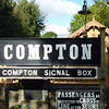 Compton Station and Signal Box signs Didcot Railway Centre  16 10 10
