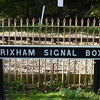 Brixham Signal Box sign Didcot Railway Centre  16 10 10
