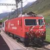 103 passes Hospental with 902 08:52 Zermatt to Davos Platz portion of the Glacier Express, 30/7/2012.
