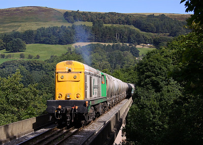 GEORGE AND THE DRAG ON THE VIADUCT