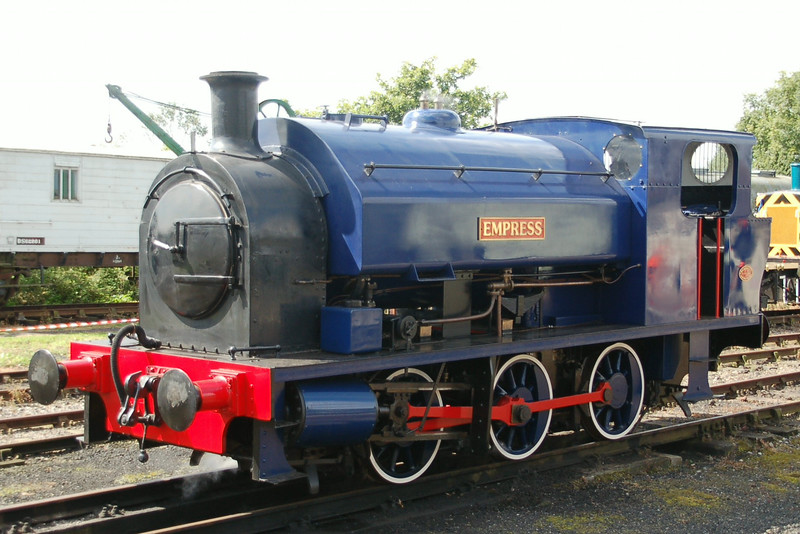 WB 3061 Empress - Mangapps Railway Museum - 24 August 2014