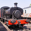 2157 A Barclay 0-4-0ST - Mangapps Railway Museum