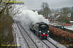 "34067 ""Tangmere"", Little Bedwyn, 1Z46, 23rd March 2013"