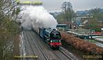 """60163 """"Tornado"""", Little Bedwyn, 1Z63, 23rd March 2013"""