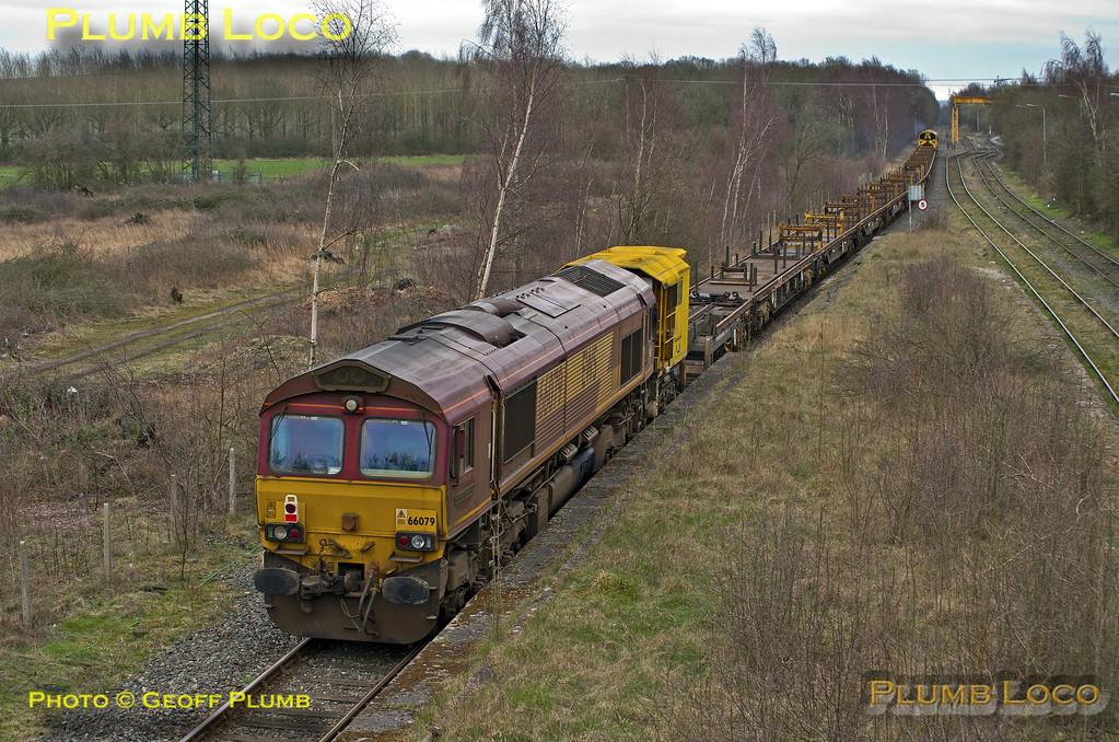 66084 & 66079, Calvert, 6P53, 18th March 2014