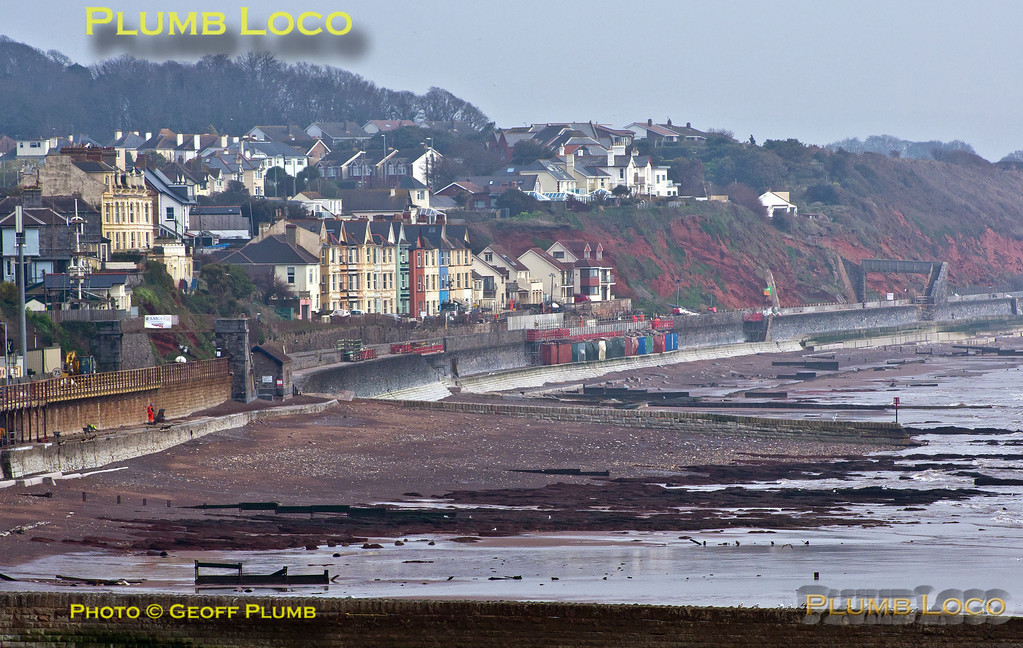 Dawlish, Seawall, 29th March 2014