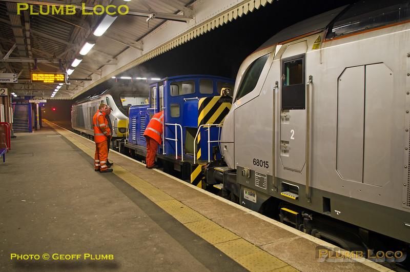 "68015, Ruston ""Scaz"" & 68012, Princes Risborough, 8Z99, 12th March 2016"