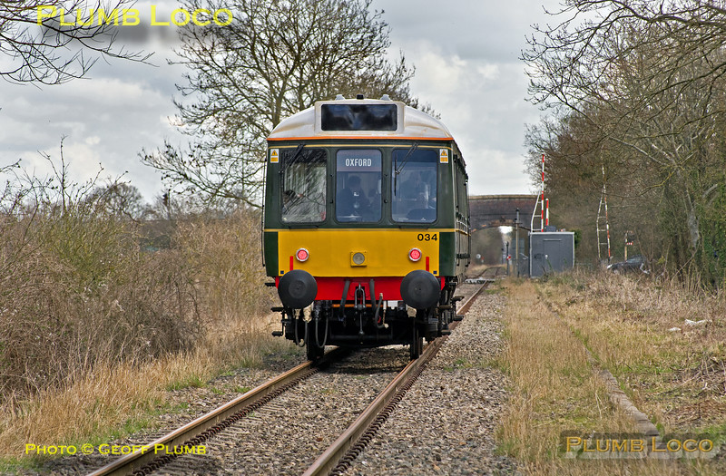121 034, Bicester Jarvis Lane, 2Z26, 31st March 2016