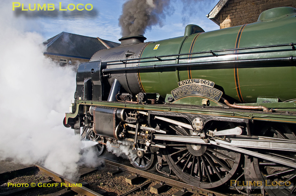 """46100 """"Royal Scot"""", Grosmont, 26th March 2017"""