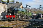 "46100 ""Royal Scot"", Grosmont, 26th March 2017"