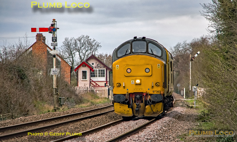97303, Scropton Crossing, 0Z97, 22nd March 2019