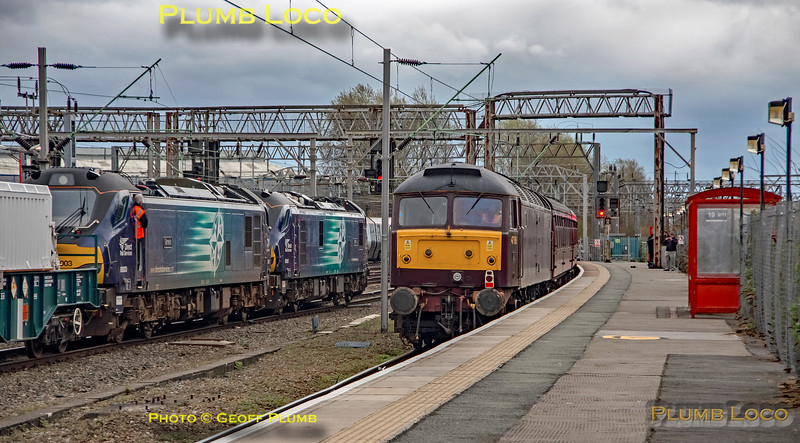 47851, 88007 & 88003, Crewe, 22nd March 2019