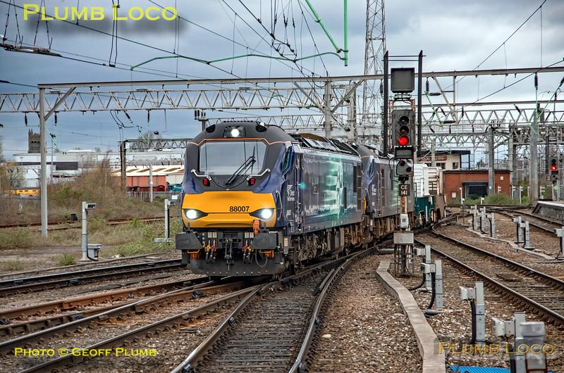 88007 & 88003, Crewe UDL, 6K13, 22nd March 2019